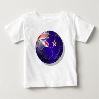 New Zealand All whites kiwi flag Ball Tshirt