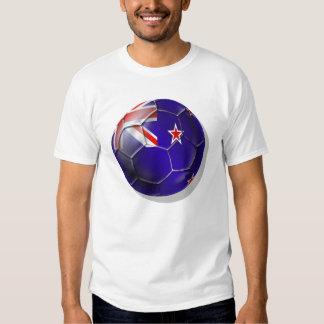 New Zealand All whites kiwi flag Ball Tshirts
