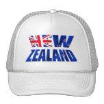 New Zealand Aotearoa Kiwi flag logo Cap