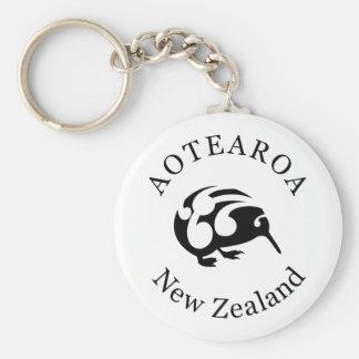 New Zealand Aotearoa KIWI Key Ring