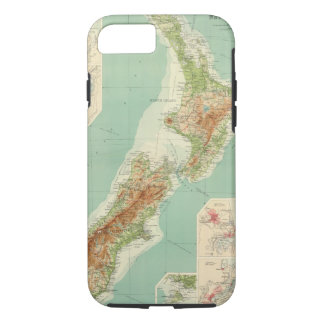 New Zealand Atlas Map iPhone 8/7 Case