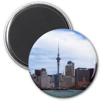 New Zealand Auckland cityscape Magnets