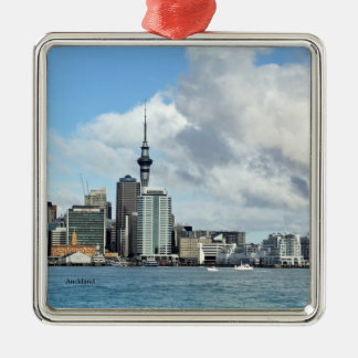 NEW ZEALAND: Auckland Skyline Christmas Ornament