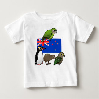 New Zealand Birdorables Baby T-Shirt