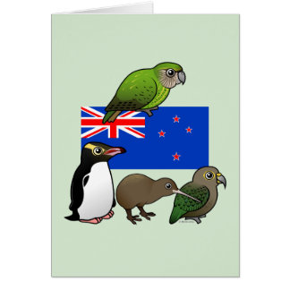 New Zealand Birdorables Card