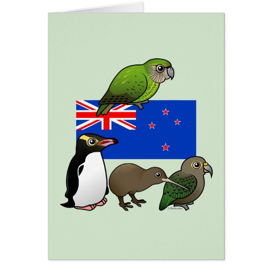 New Zealand Birdorables Card