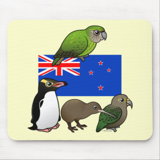 New Zealand Birdorables Mouse Pad
