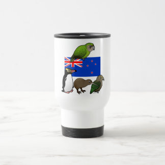 New Zealand Birdorables Coffee Mugs