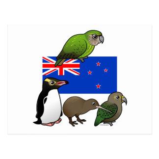 New Zealand Birdorables Postcard