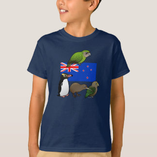 New Zealand Birdorables T-Shirt