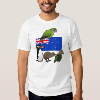 New Zealand Birdorables Tee Shirt