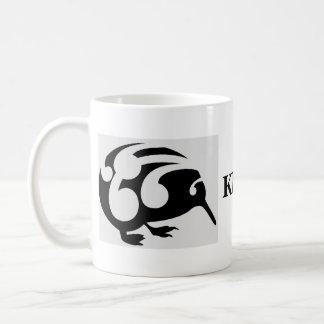 New Zealand birds KIWI cup Basic White Mug