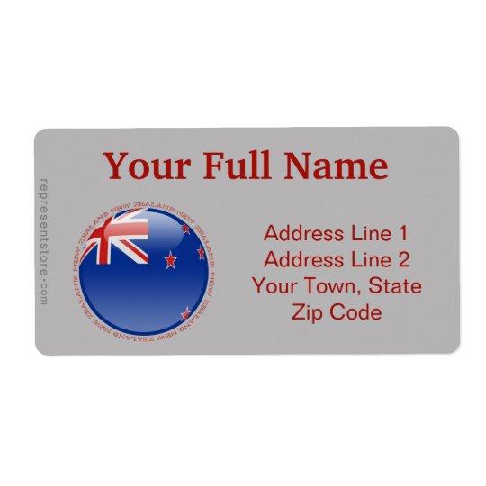 New Zealand Bubble Flag
