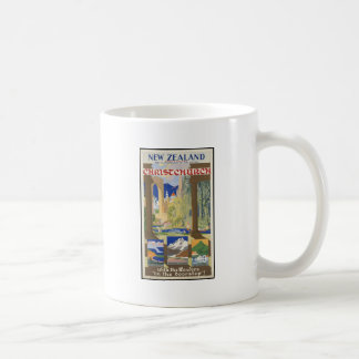 New Zealand Christchurch Coffee Mug