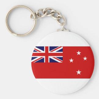 New Zealand Civil Ensign Key Chain