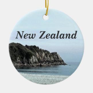 New Zealand Coast Christmas Ornament