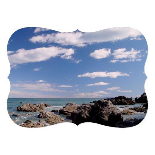 New Zealand Coast Personalized Invitation