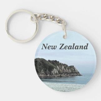 New Zealand Coast Keychain