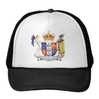 New Zealand Coat Of Arms Cap
