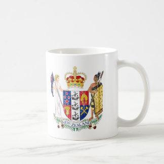 New Zealand Coat Of Arms Coffee Mug