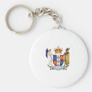 New Zealand Coat of Arms Keychain