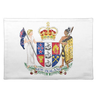 New Zealand Coat Of Arms Placemat