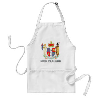 New Zealand Coat of Arms Standard Apron