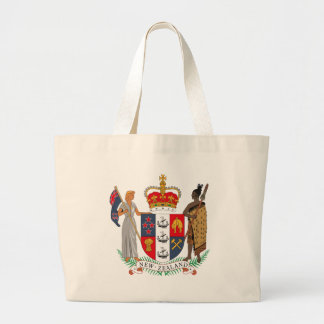 New Zealand Coat of Arms Tote Bag