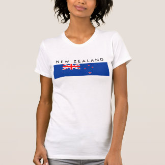 new zealand country flag nation symbol T-Shirt