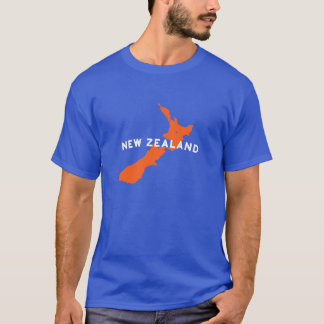 New Zealand Country Silhouette T-Shirt