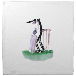 new zealand cricket batsman, tony fernandes printed napkin