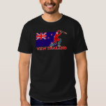New Zealand Cricket Player T-shirts