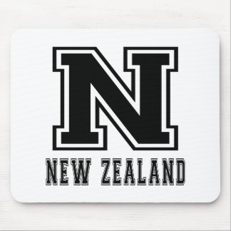 New Zealand Designs Mouse Pads