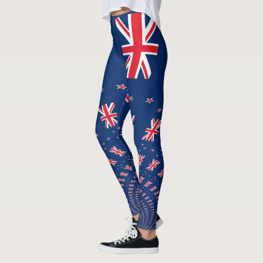 New Zealand Destinations Leggings