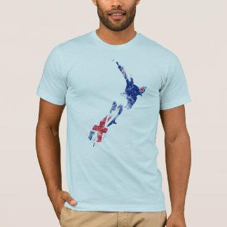 New Zealand Distressed Flag T-Shirt