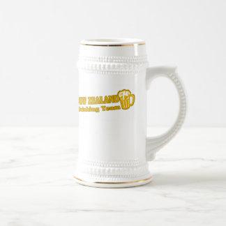 New Zealand Drinking Team Beer Stein