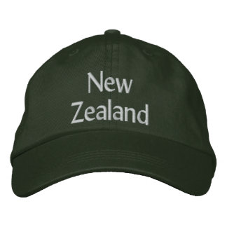 New Zealand Embroidered Hats