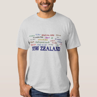 NEW ZEALAND EXPRESSIONS T-shirt