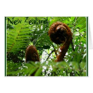 New Zealand FerNZ FroNZ Greeting Cards