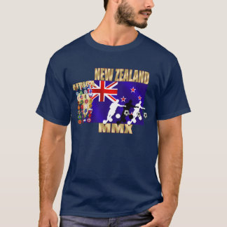 New Zealand Flag 32 qualifying countries T-Shirt