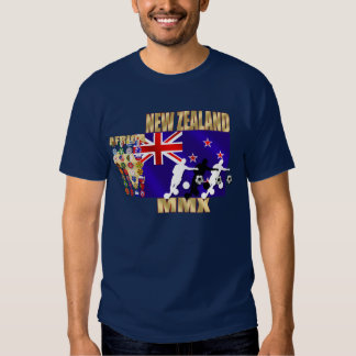 New Zealand Flag 32 qualifying countries Tees
