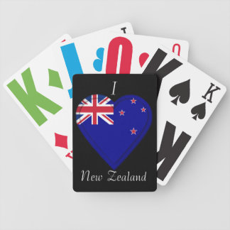 New Zealand flag Bicycle Playing Cards