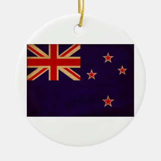 New Zealand Flag Christmas Ornament