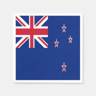 New Zealand Flag Disposable Napkin