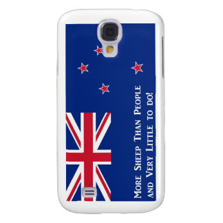 New Zealand Flag Galaxy S4 Case