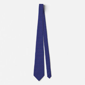New Zealand Flag Honeycomb Tie