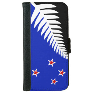 New Zealand flag iPhone 6 Wallet Case