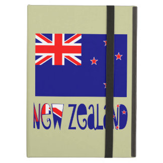 New Zealand Flag & Name Case For iPad Air