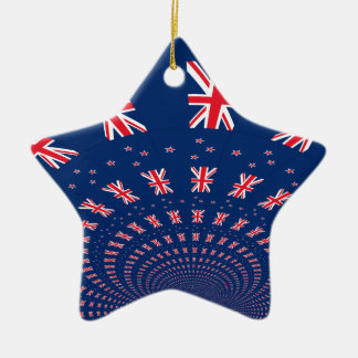 New Zealand flag.png Christmas Ornament