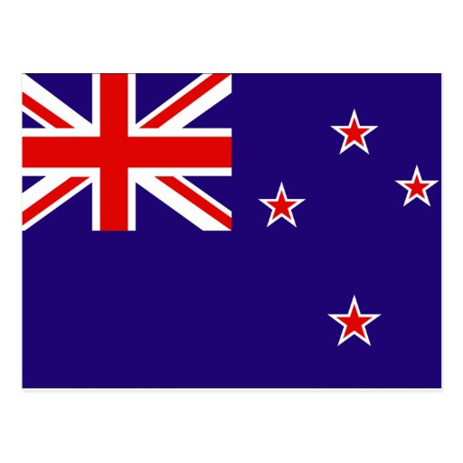 New Zealand Flag Post Cards